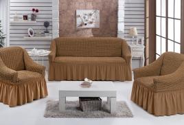 Еврочехол на угловой диван  магазине